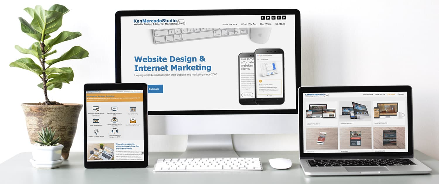 Our website design and internet marketing services include: content writing, website development, website design, search engine optimization (SEO), website hosting set-up, and website maintenance services.