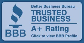 Trusted Better Buseinss Bureau Business A+ Rating