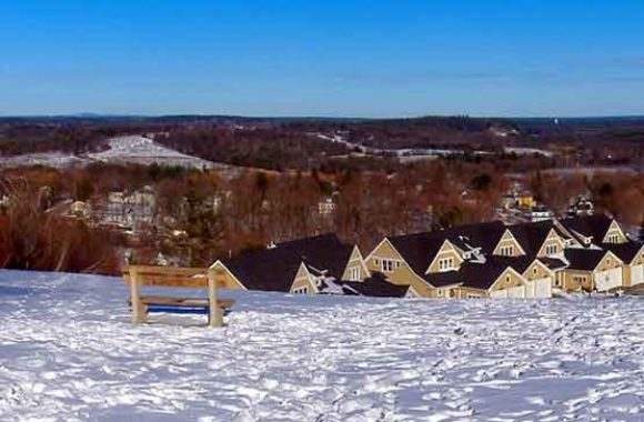 Amesbury MA View Northeast From Powwow Hill
