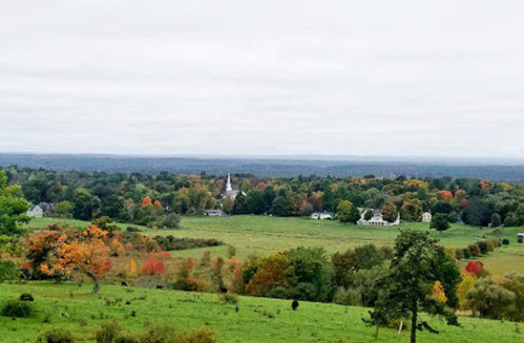 Groton MA View from Bancroft Castle a top Gibbet Hill