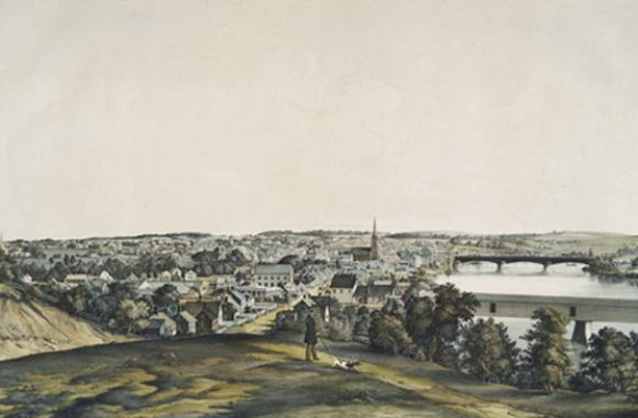 Haverhill MA View of 1850
