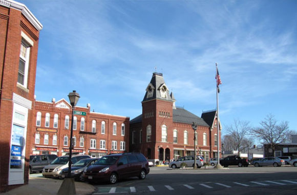 Merrimac MA Town Hall on the Square
