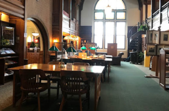 Methuen MA Nevins Memorial Library Inside View-Main