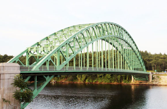 Tyngsborough MA Bridge over the Merrimac River Nashua New Hampshire